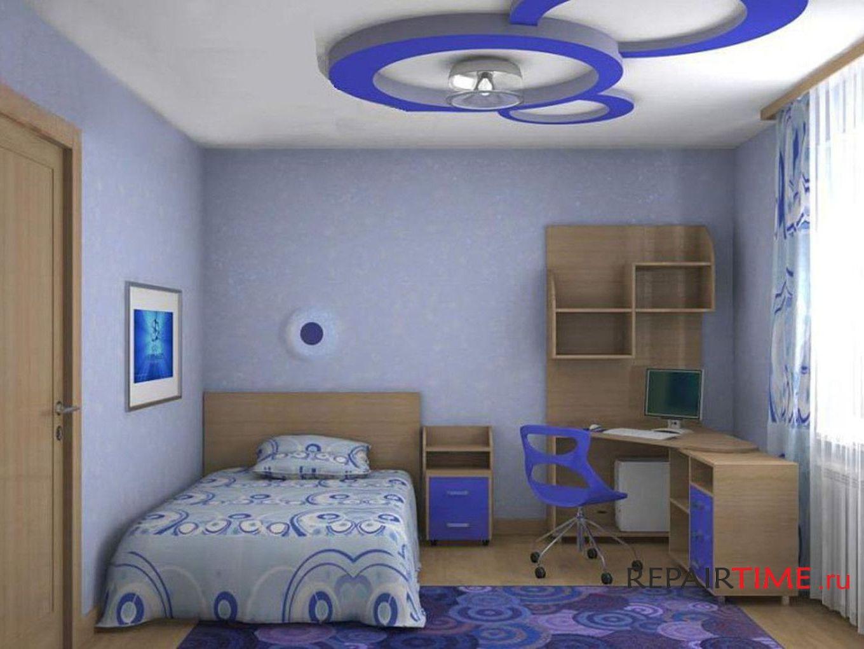 Ремонт детской комнаты, дизайн для всех возрастов.